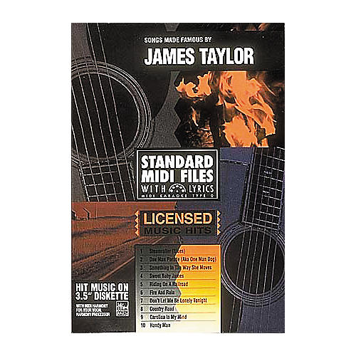 Hal Leonard Songs Made Famous by James Taylor - Tune 1000 Series (3-1/2