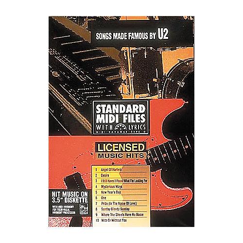 Hal Leonard Songs Made Famous by U2 - Tune 1000 Series (3-1/2