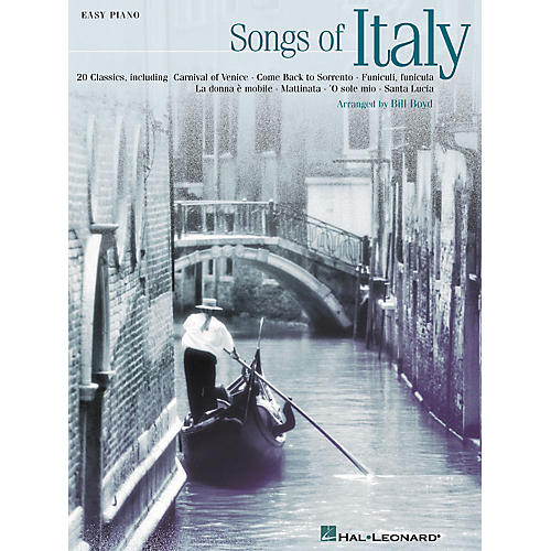 Hal Leonard Songs Of Italy (20 Classics) For Easy Piano-thumbnail