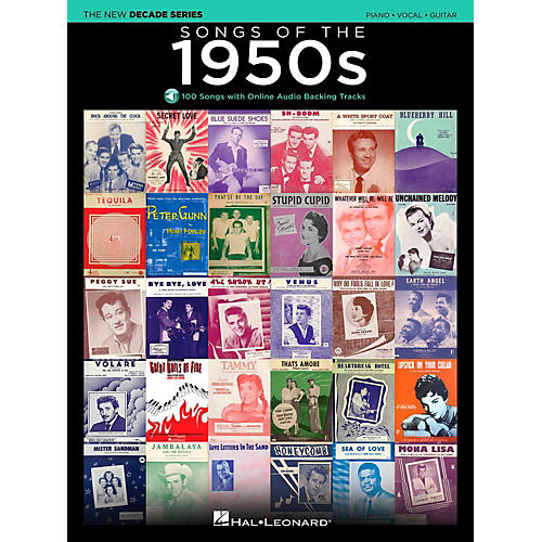 Hal Leonard Songs Of The 1950's - The New Decade Series with Optional Online Play-Along Backing Tracks-thumbnail