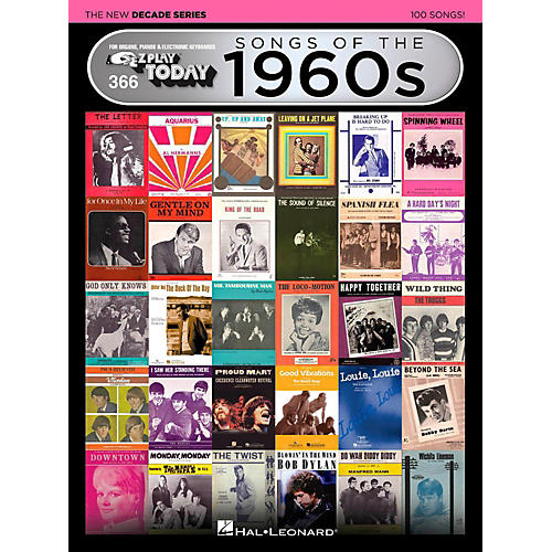 Hal Leonard Songs Of The 1960s - The New Decade Series E-Z Play Today Volume 366-thumbnail