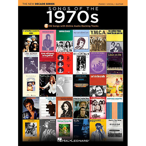 Hal Leonard Songs Of The 1970's - The New Decade Series with Optional Online Play-Along Backing Tracks-thumbnail