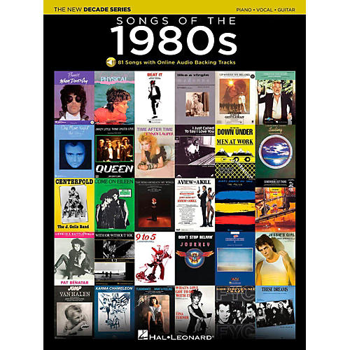 Hal Leonard Songs Of The 1980's - The New Decade Series with Optional Online Play-Along Backing Tracks-thumbnail