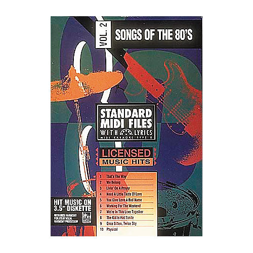 Hal Leonard Songs Of The 80s Volume 2 (3-1/2