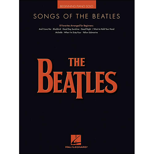 Hal Leonard Songs Of The Beatles Beginning Piano Solo-thumbnail