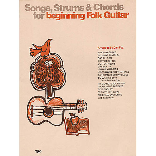 Richmond Organization Songs, Strums and Chords for Beginning Folk Guitar Book