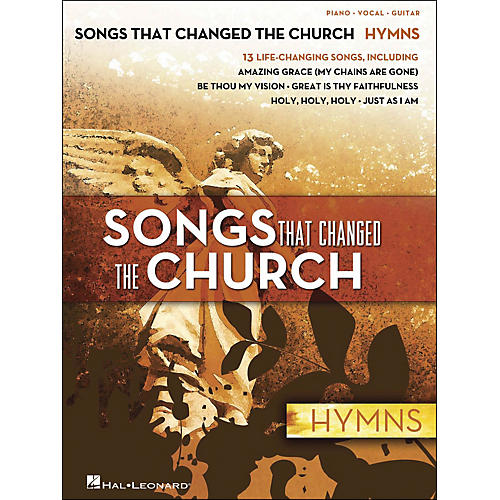 Hal Leonard Songs That Changed The Church - Hymns arranged for piano, vocal, and guitar (P/V/G)-thumbnail