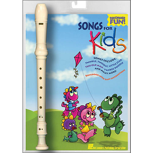 Hal Leonard Songs for Kids Recorder Fun! Pack-thumbnail