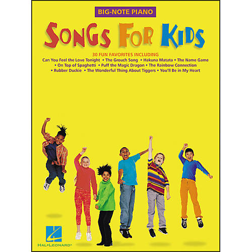 Hal Leonard Songs for Kids for Big Note Piano-thumbnail