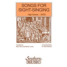 Southern Songs for Sight Singing - Volume 1 (High School Edition SATB Book) SATB Arranged by Mary Henry