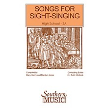 Southern Songs for Sight Singing - Volume 1 (High School Edition SSA Book) SSA Arranged by Mary Henry