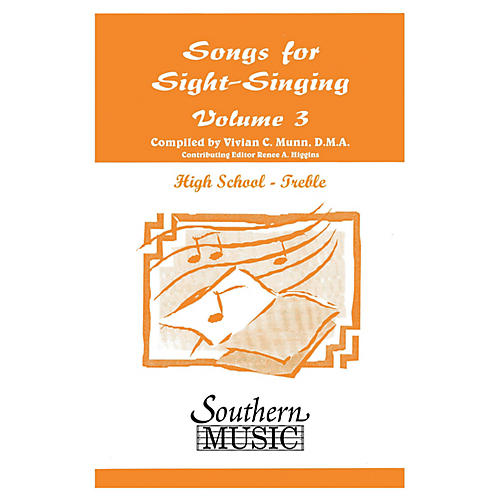 Southern Songs for Sight Singing - Volume 3 (High School Edition SSA Book) SSA Arranged by Mary Henry