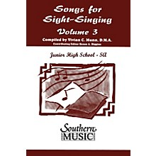 Southern Songs for Sight Singing - Volume 3 (Junior High School Edition SSA Book) SSA Arranged by Mary Henry