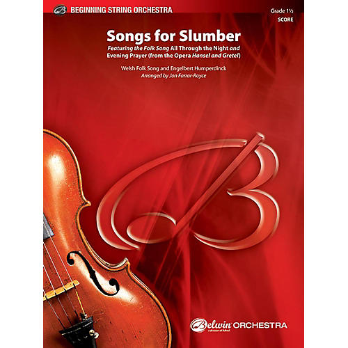 BELWIN Songs for Slumber - Grade 1.5-thumbnail