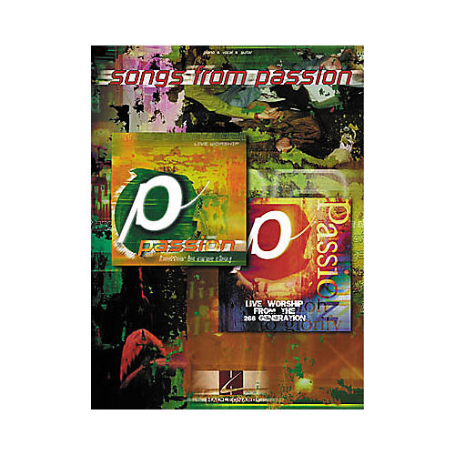 Hal Leonard Songs from Passion Piano, Vocal, Guitar Songbook