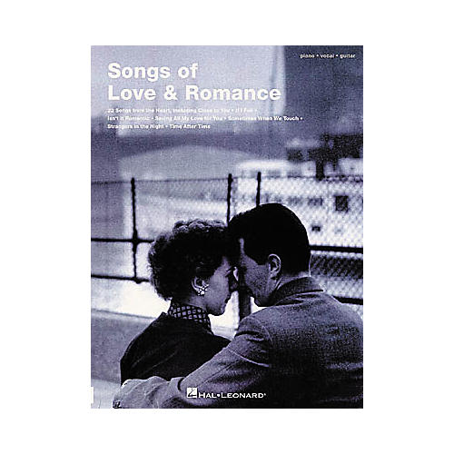 Hal Leonard Songs of Love & Romance Piano, Vocal, Guitar Songbook-thumbnail