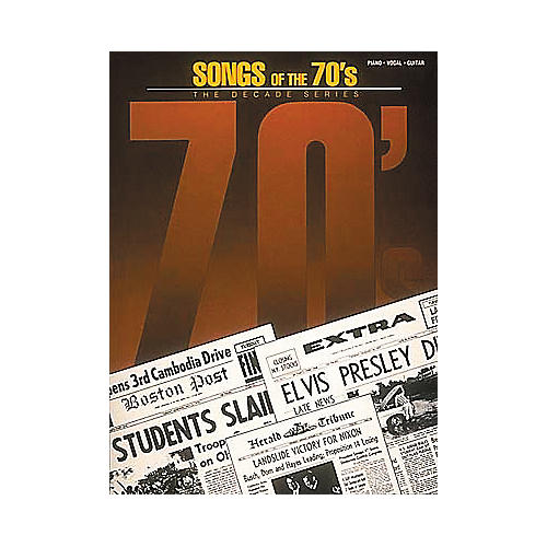 Hal Leonard Songs of the '70s Book
