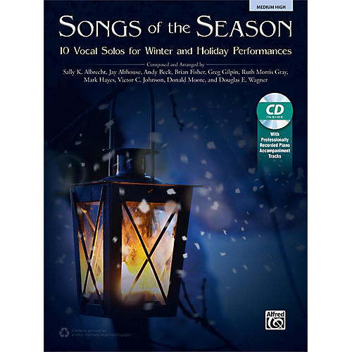 Alfred Songs of the Season Medium High Book & Acc. CD-thumbnail