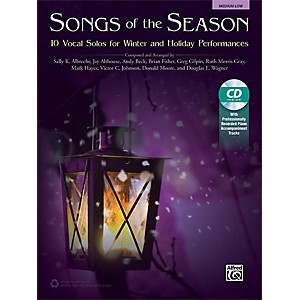 Alfred Songs of the Season Medium Low Book and Acc. CD by Alfred