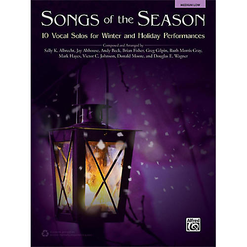 Alfred Songs of the Season Medium Low Book