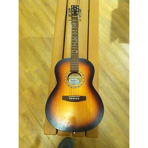 In Store Used Songsmith Folk Acoustic Guitar-thumbnail