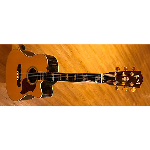 used gibson songwriter deluxe ec acoustic electric guitar natural guitar center. Black Bedroom Furniture Sets. Home Design Ideas