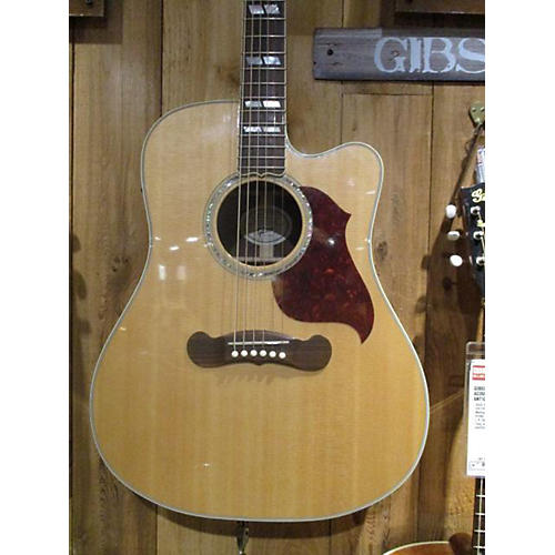 Gibson Songwriter Deluxe Studio Natural Acoustic Electric Guitar