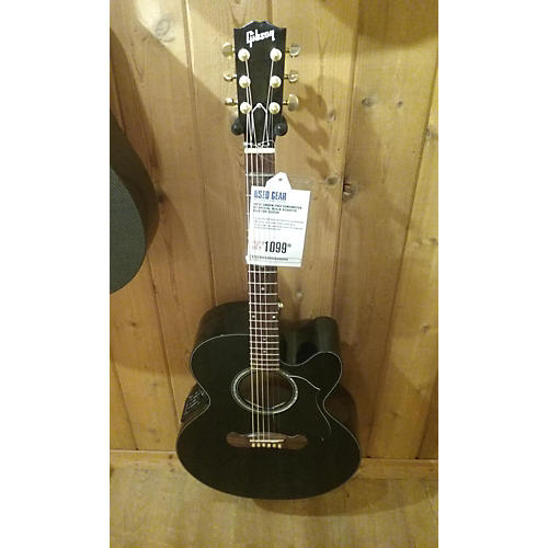 Gibson Songwriter EC Special Acoustic Electric Guitar Black