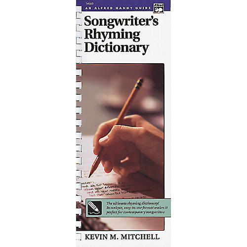 Alfred Songwriter's Rhyming Dictionary Book