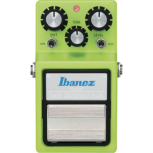 Ibanez Sonic Distortion Modified Guitar Effects Pedal-thumbnail