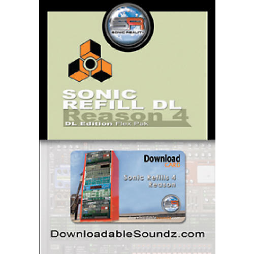 Sonic Reality Sonic ReFill DL Flex Pak with Download Card