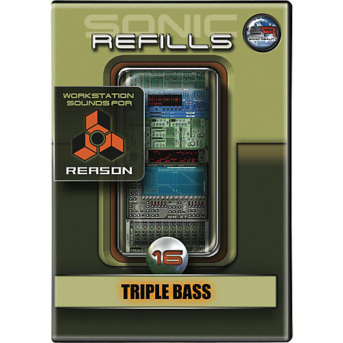 Sonic Reality Sonic Refill for Reason Volume 16 - Triple Bass-thumbnail