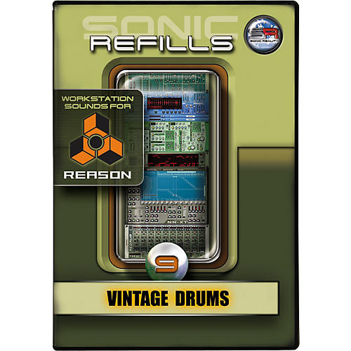 Sonic Reality Sonic Refill for Reason Volume 9 - Vintage Drums