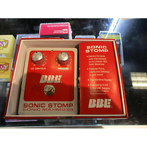 BBE Sonic Stomp Bass Effect Pedal