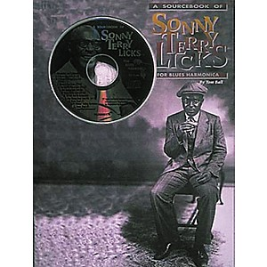 Centerstream Publishing Sonny Terry Licks For Blues Harmonica Book/CD by Centerstream Publishing