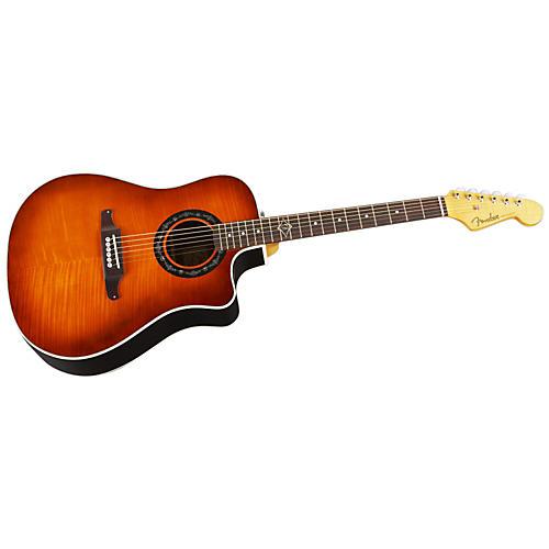 Fender Sonoran Bucket Acoustic-Electric Guitar Sunburst-thumbnail
