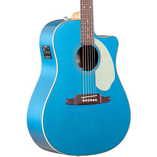 Fender Sonoran SCE Acoustic-Electric Guitar Lake Placid Blue