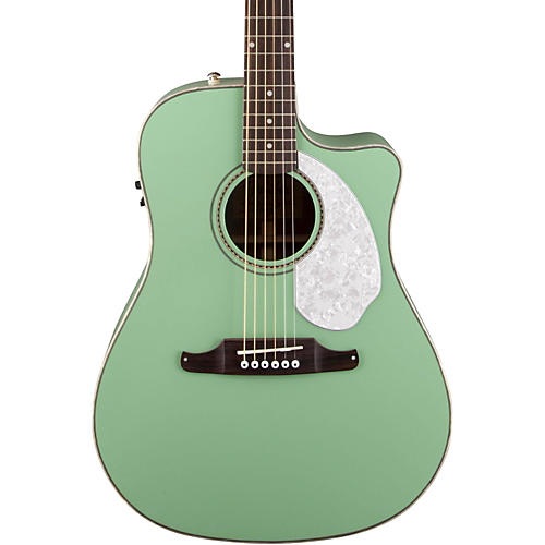 Fender Sonoran SCE Acoustic-Electric Guitar Surf Green