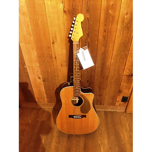 Fender Sonoran SCE Acoustic Electric Guitar Natural