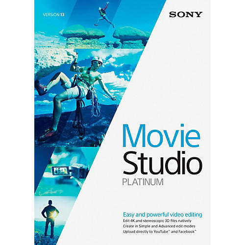 Sony Sony Movie Studio 13 Platinum-thumbnail