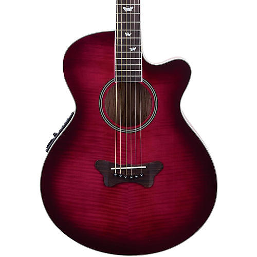 Daisy Rock Sophomore Butterfly Cutaway Acoustic-Electric Guitar