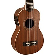 Lanikai Soprano All-Mahogany Acoustic-Electric Ukulele with USB