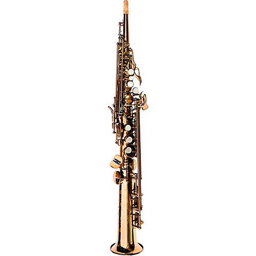 MACSAX Soprano Saxophone Dark Gold Lacquer