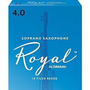 Rico Royal Soprano Saxophone Reeds, Box of 10