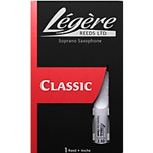 Legere Reeds Soprano Saxophone Reeds Strength 2.5