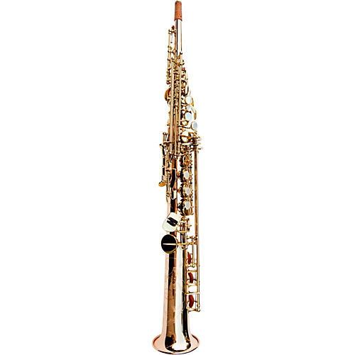 MACSAX Soprano Saxophone Rose Brass Clear Lacquer