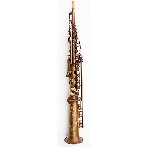 MACSAX Soprano Saxophone Vintage Bare Brass