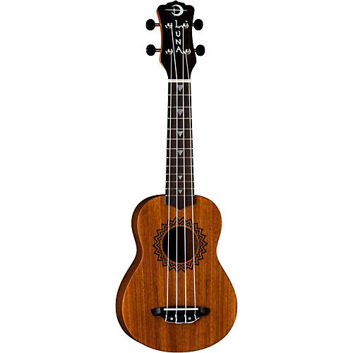 Luna Guitars Soprano Vintage Mahogany Ukulele Natural Review