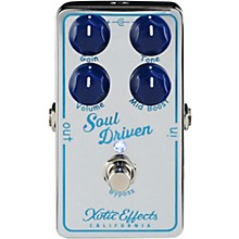 Xotic Soul Driven Boost & Overdrive Effects Pedal