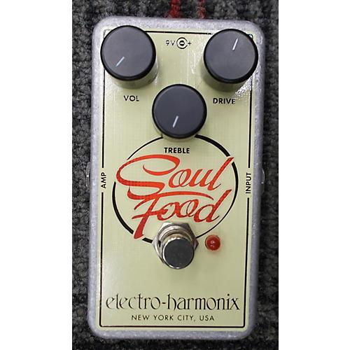 Electro-Harmonix Soul Food Overdrive Effect Pedal-thumbnail